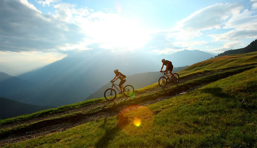 Climbing and cycling during your active holiday in South Tyrol