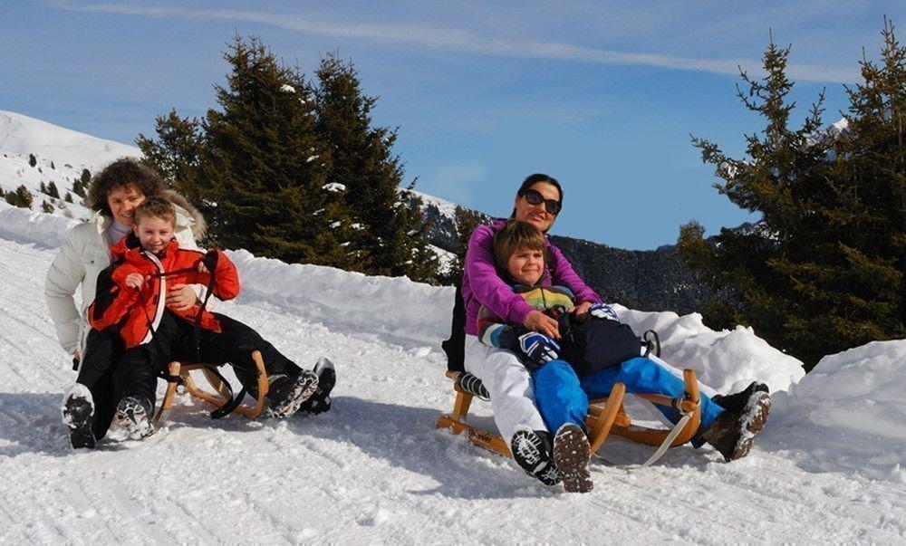 Winterlicher Freizeitspaß abseits der Skipisten